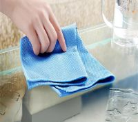Microfiber Window Glass Pique Clean Care Cloth Wipe Towel