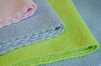 Zig Zag Ultra Cutting Microfiber Cleaning Wash Cloth Towel
