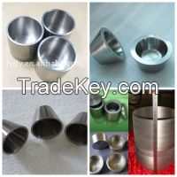 high quality 99.95%pure tungsten crucible  in factory p
