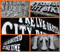 3D frontlit backlit customized stainless acrylic aluminum led channel letter
