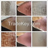 New Design PVC fancy leather for household decorating