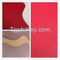 Anti-abrasive nonwoven backing PU microfiber synthetic leather