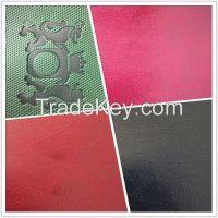 Anti-abrasive elastic nonwoven backing PU synthetic leather