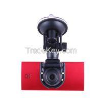 2014 New Original DK870 Dual lens GPS Full HD 1280P 140Degree Ultra Wide Angle Lens Car DVR