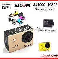 Original WIFI SJ4000 Action Mini Camcorders Diving 30M Waterproof Camera 1080P 12.0M Full HD Helmet Camera Sport Camera