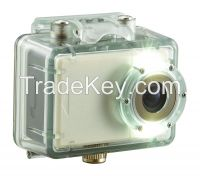 Full HD 1080P 30M Waterproof Mini Video Action Camera 2.0 Inch Touch Screen Sport DVR Camera with Night Led Light