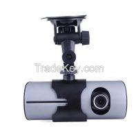 Original K400 Full hd Car DVR With GPS Logger G-Sensor Dual Lens 2.7 Inch LCD Camera Video Recorder