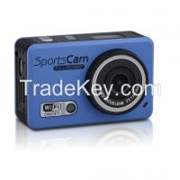 1080P waterproof Extreme Action Sport Camera with Wifi Support Control by Phone/Tablet