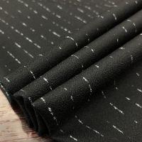Stripe design suiting fabric