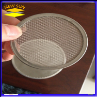 covered filter mesh disc