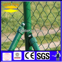 Pvc coated chain link fence and post