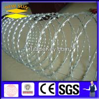 Razor barbed wire for prison