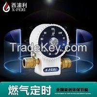 LPG, Pipelined gas timer valve