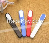 12cm plastic promotional thread cutter, thread snips for promotion gifts DC-PG01