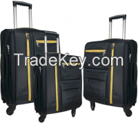 Built-in luggage set