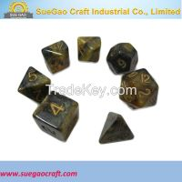 Mix Colour Dice Set, Resin Dice