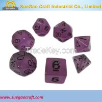 Glow In The Dark Dice, glow In The Dark Dice Set