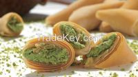 Pastry Pockets with Pistachio