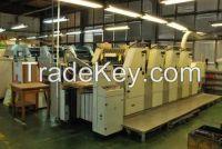 Used KOMORI L 526 , L 426 , L 428  Sheet fed offset printing machine