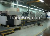 Used Man Roland 706 , 700 LTLV Offset Printing Machine