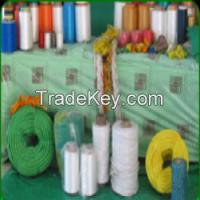 Yarns, Denier 1200 for sewing sacks