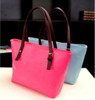 """""""ON SALE"""" Top handle shopping Bag with Embossing"""