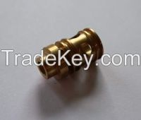 spool body for Pneumatic tools/ CNC Brass part/ Machined brass parts/ Pneumatic tools parts