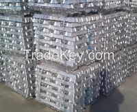 Pure Zinc Ingot 99.995/ 99.99%