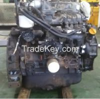 used diesel engine 4TNE94-SMB of Excavator