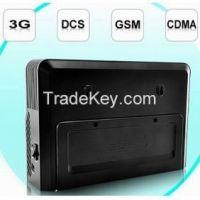 Mobile Phone Jammer With Hidden Antenna - 3G, GSM, CDMA, DCS - Black Color