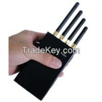 Portable Signal Jammer for WiFi, 3G and 2G Cell Phones