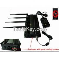 GPS and Cell Phone Signal Jammer with Car Charger Shielding Range Up to 30 meters