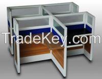 30 white office screen aluminum profile