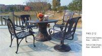 Garden table garden chair iron sets FWS-212