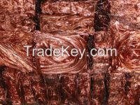 High Purity Copper Scrap wire scrap 99.9%/Millberry