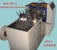 YQZB-16 automatic paper cup machine,paper cup forming machine importer
