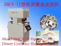 Sell Paper Dinner Container Shaping Machine