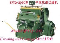 Sell Creasing and Cutting Machine