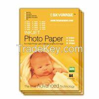 108gsm Inkjet Matte Coated Photo Paper