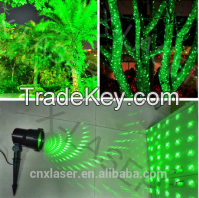 Green Christmas &Garden laser Lights