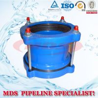 sell ductile iron flexible coupling for PVC pipes