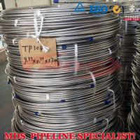 sell annealed and polished ASTM A269 stainless steel cooling coil tubing