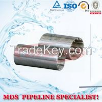 sell 304 stainless steel wedge wire screen pipe