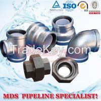 sell banded malleable iron pipe fittings