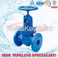 sell cast iron flanged globe valves