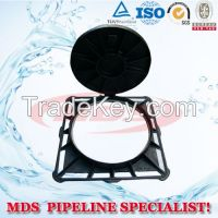 sell  ductile iron manhole cover / grating en124