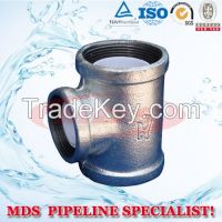 sell malleable iron pipe fitting Tee