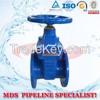 sell Resilient seated GGG40 ductile iron gate valve DIN3352 F4 Type