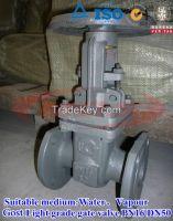sell Cost Light grade gate valve (grey handwheel)PN16 DN50