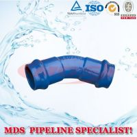 sell ductile iron pipe fittings for PVC pipe